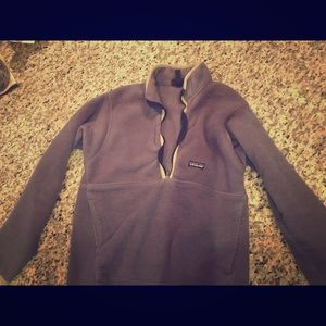 Old School Patagonia Pull Over Fleece